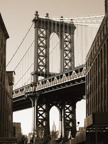Manhattan Bridge von Aurelien Terrible