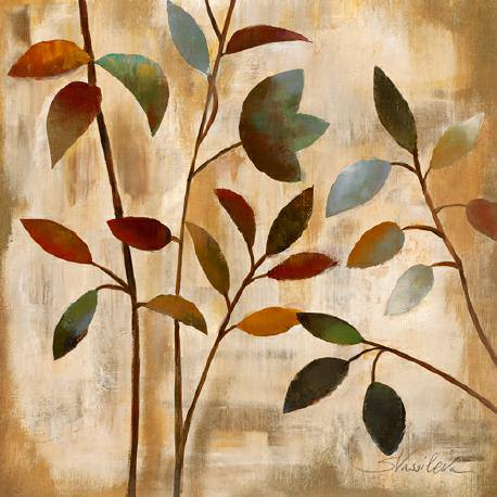 Branches at Sunrise I von Silvia Vassileva