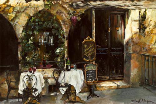 Meeting at the Cafe von Marilyn Hageman