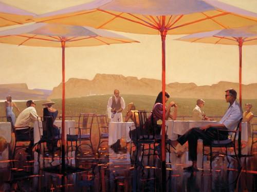 Winery Terrace von Brent Lynch