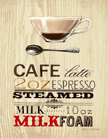 Cafe Latte von Marco Fabiano