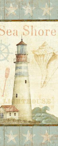 Coastal Shells I von Daphne Brissonnet