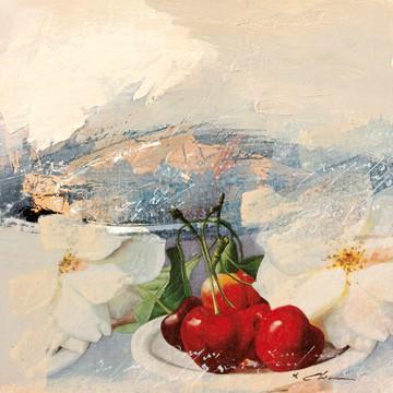 Kirschen 1 von Viorel Chirea