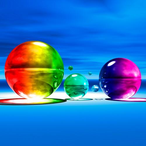 Rainbowl I von Peter Hillert