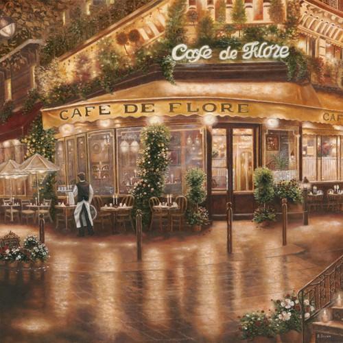Cafe de Flore von Betsy Brown