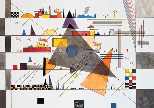 Horizontale, 1924 von Wassily Kandinsky