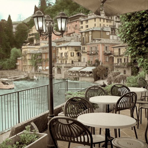 Porto Caffe, Italy von Alan Blaustein