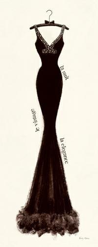 Couture Noire Original I von Emily Adams