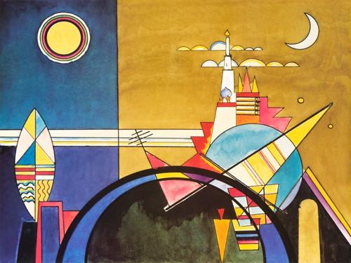 Torre di Kiev (part.) von Wassily Kandinsky