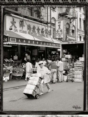 New York Chinatown the Morning von Ralf Uicker