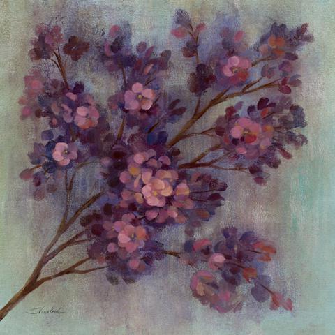 Twilight Cherry Blossoms I von Silvia Vassileva