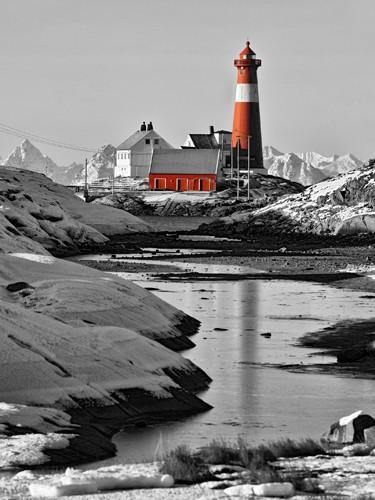 Leuchtturm Hamaro von Rolf Fischer