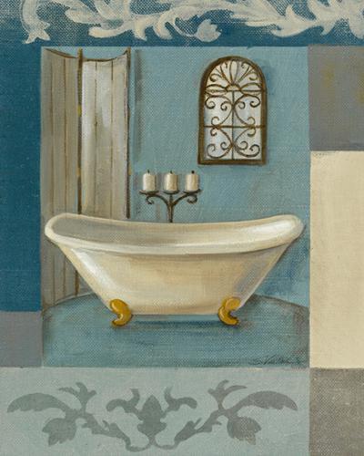 Antique Bath I von Silvia Vassileva