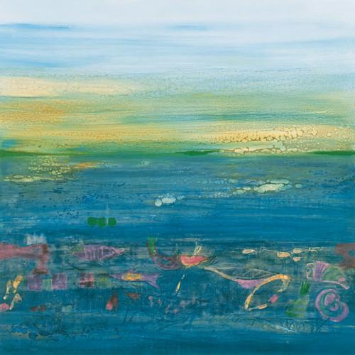 Blue Landscape von Rose Richter-Armgart
