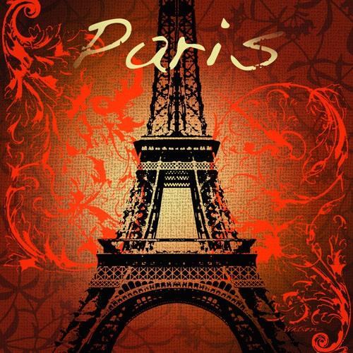 Paris Monument von Malcolm Watson Art