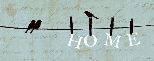 Birds on a Wire - Home von Alain Pelletier