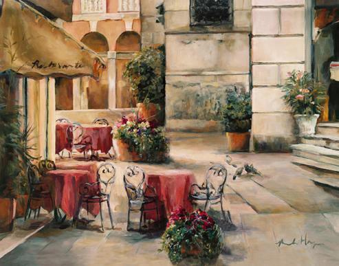 Plaza Cafe von Marilyn Hageman