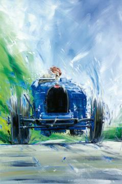 Bugatti T35 von Klaus Wagger