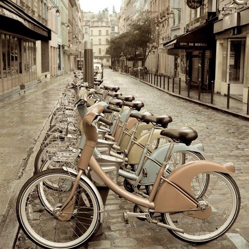 City Street Ride von Alan Blaustein