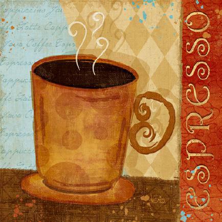 Jazzy Coffee IV von Veronique Charron