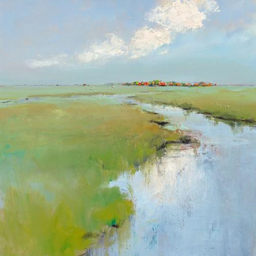 Water and Land von Jan Groenhart