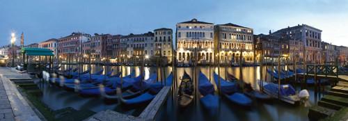 Venedig Canal Grande von Rolf Fischer