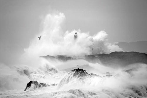 Storm in Cantabria von Marina Cano