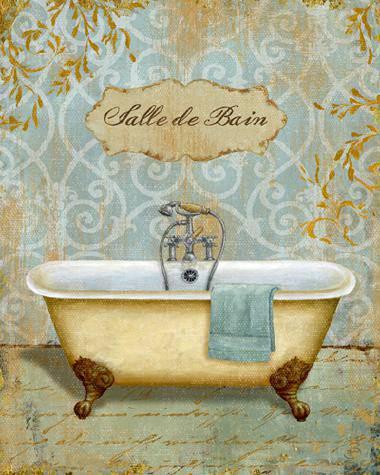 Salle de Bain I von Daphne Brissonnet