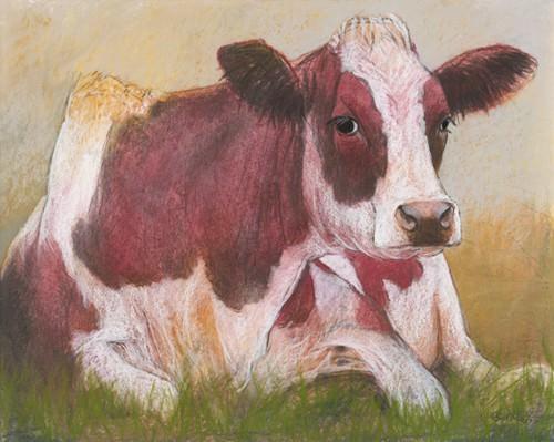 Cow in the Summer von Loes Botman
