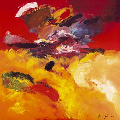 Jaune - Rouge von Pascal Magis