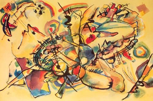 Composition 1917 von Wassily Kandinsky