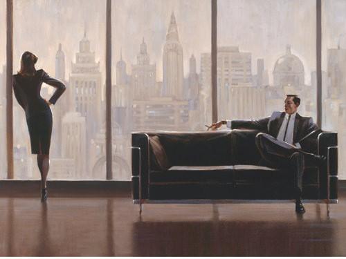 Pensive New York von Brent Lynch