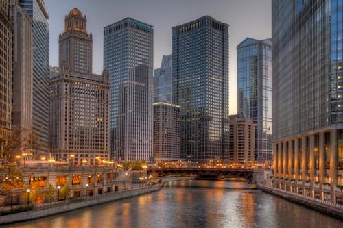Peaceful Chicago von Aurelien Terrible