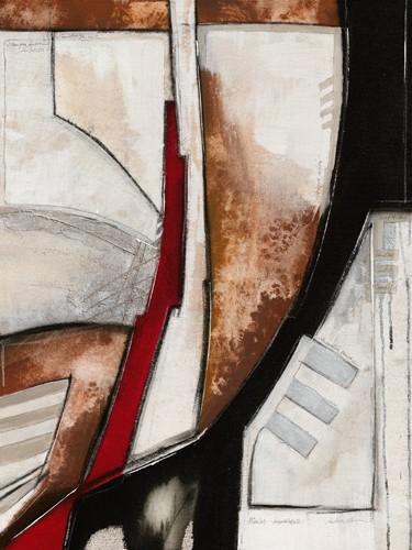 Diagonale rosso II von Andreas Alba