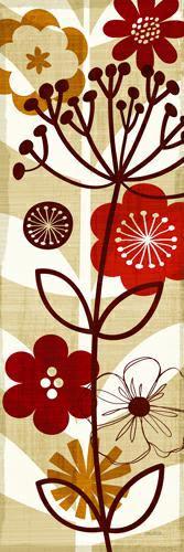 Floral Pop Panel II von Michael Mullan