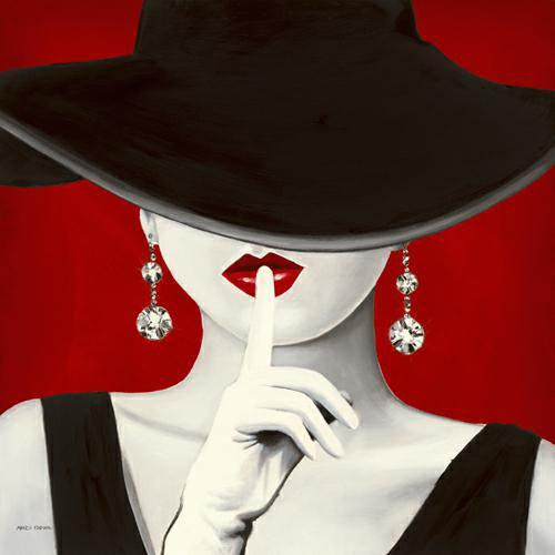 Haute Chapeau Rouge I von Marco Fabiano