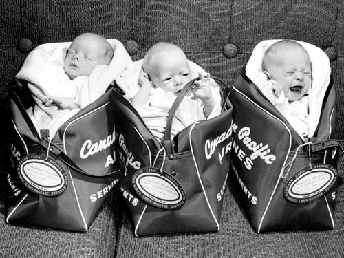 Triplets 1959 von Anonym
