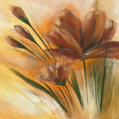 Fleur brune II von Isabelle Zacher-Finet
