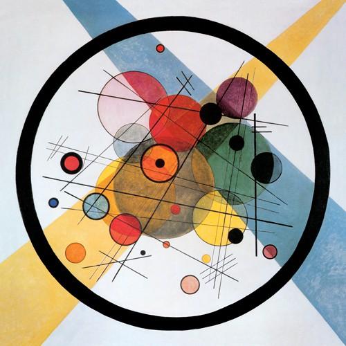 Kreise im Kreis von Wassily Kandinsky