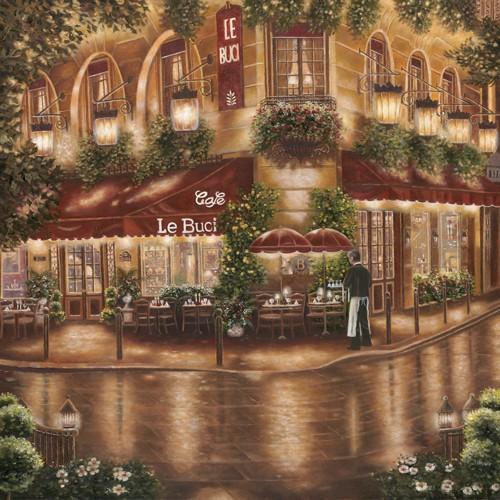 Cafe le Buci von Betsy Brown
