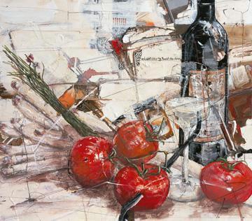 Und sieht die rote Frucht von Norbert Mayer