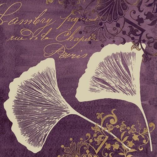 Lavender Ginko 1 von Booker Morey