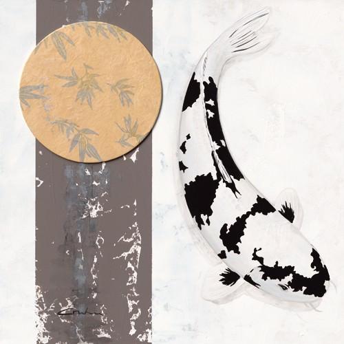 Koi Creme Spot I von Nicole Gruhn