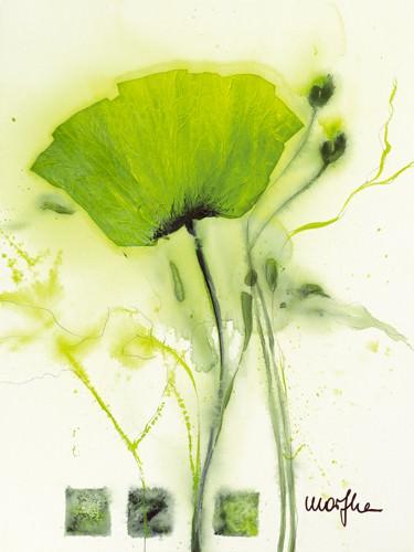 Coquelicot vert I von Marthe