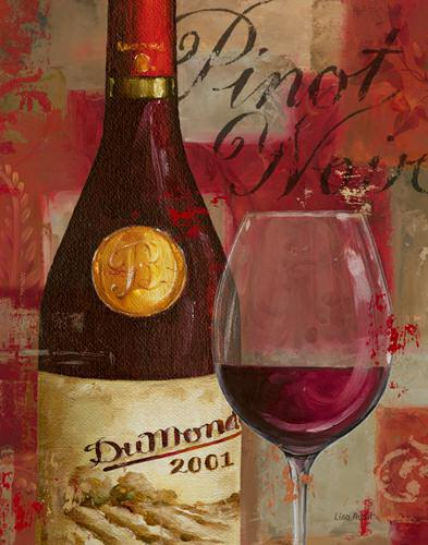 Vin Abstrait I von Lisa Audit