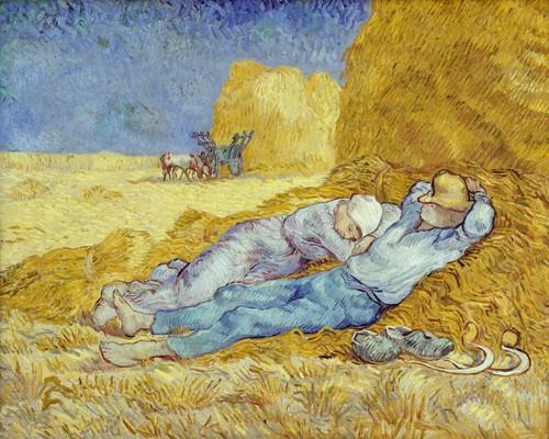 Das Mittagsschlefchen von Vincent van Gogh