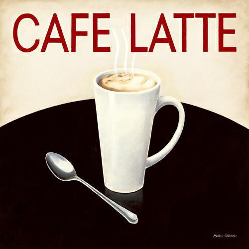 Cafe Moderne I von Marco Fabiano