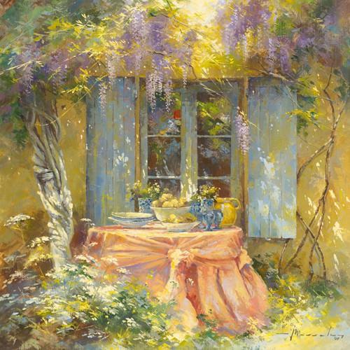 Couleurs du printemps von Johan Messely