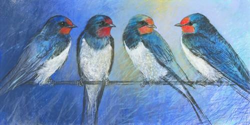 Swallows von Loes Botman