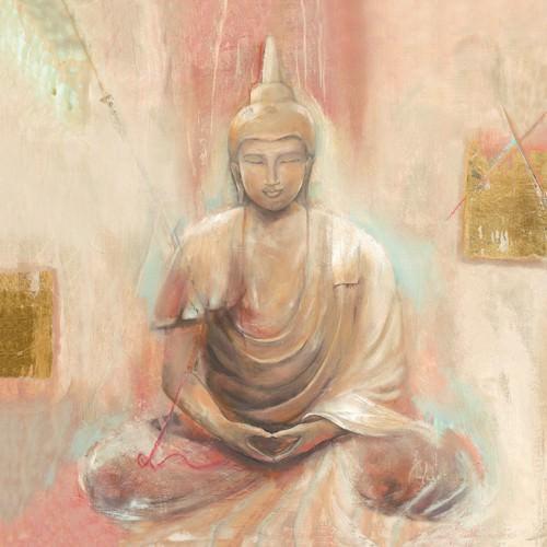 Buddha II von Elvira Amrhein